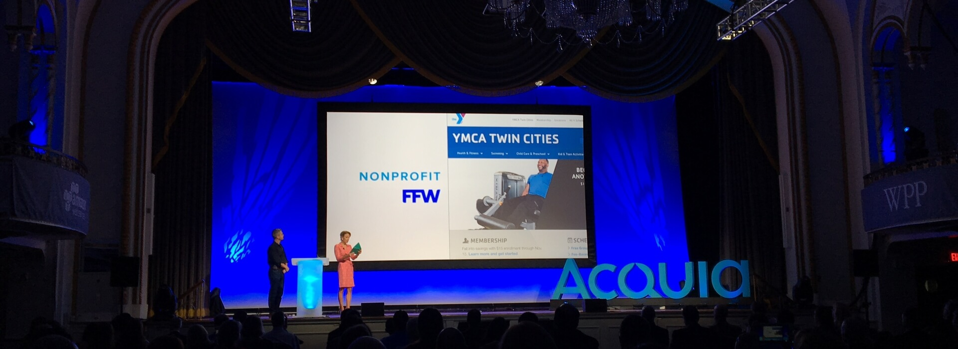 YMCA and FFW Acquia Engage Award