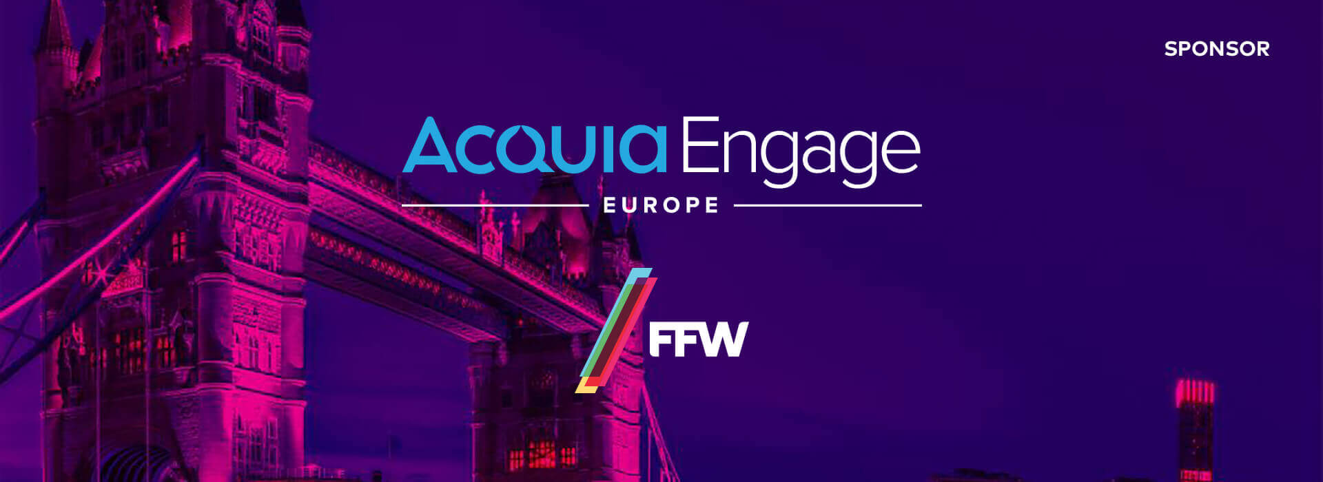 Header of Acquia Engage Europe blog