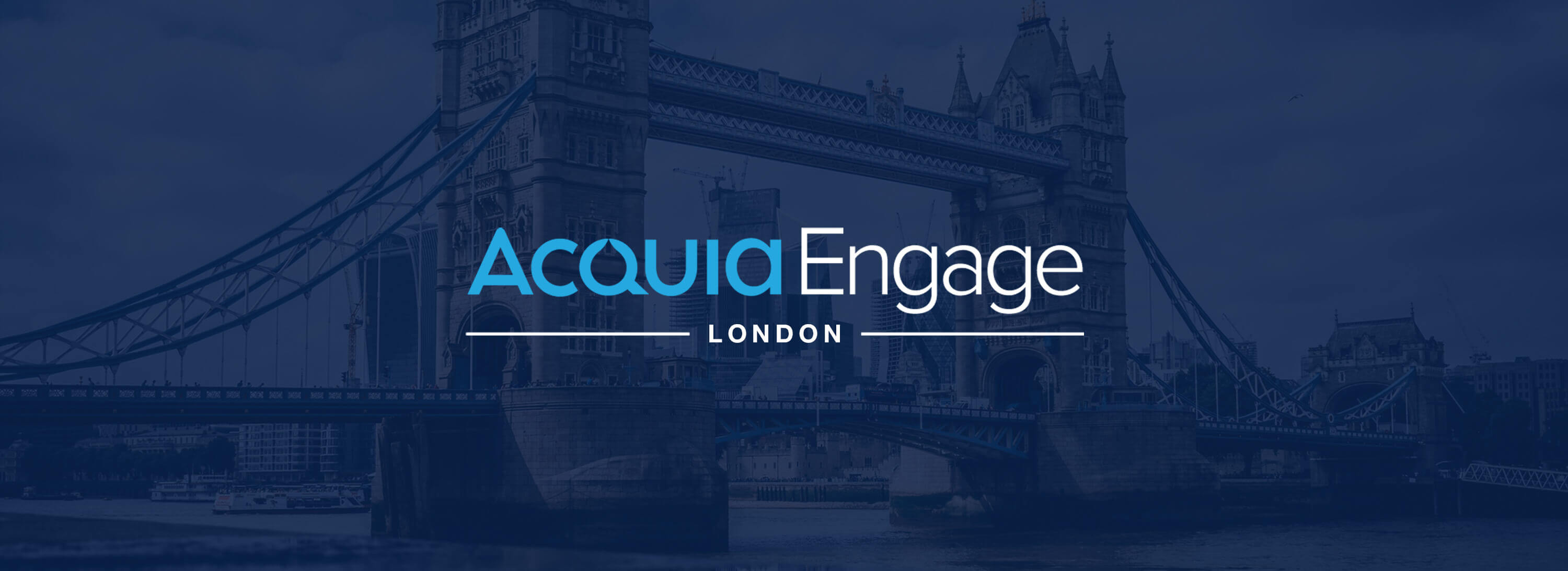 Header of Acquia Engage London blog