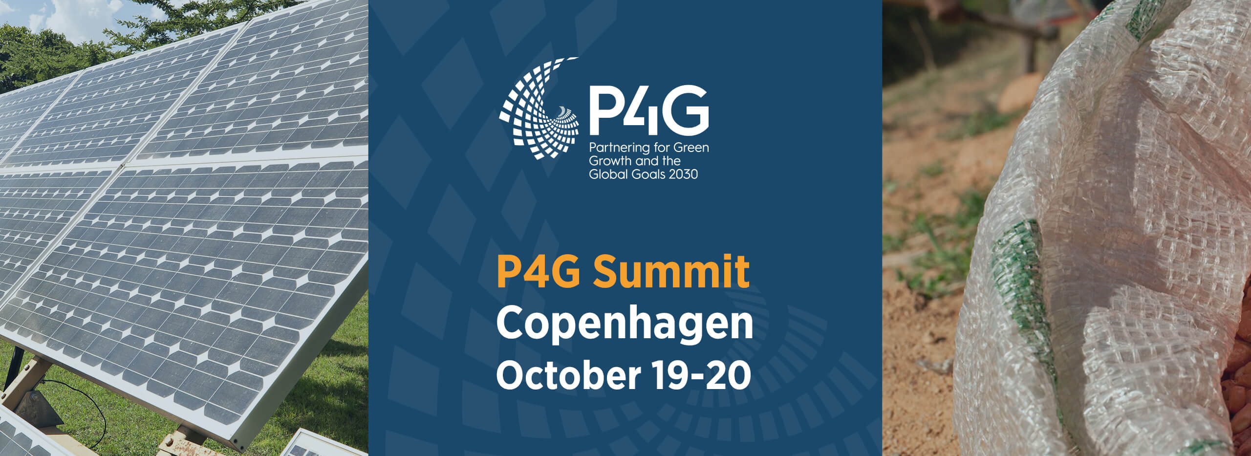 Header of P4G Summit blog