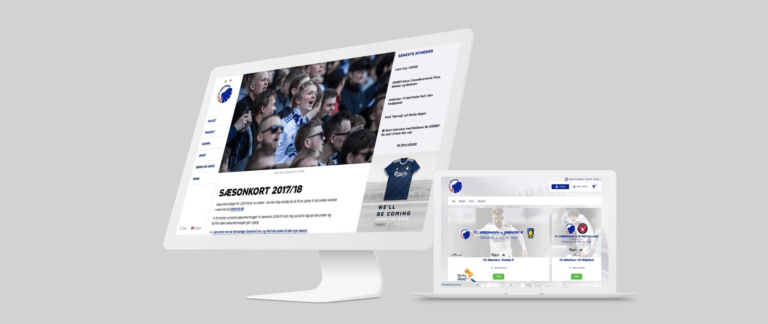 Image of F.C.Copenhagen tickets page