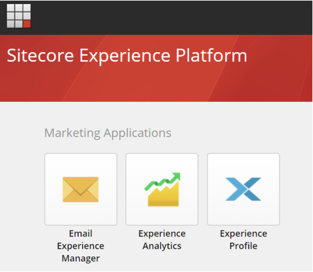 Sitecore Marketing Applications panel