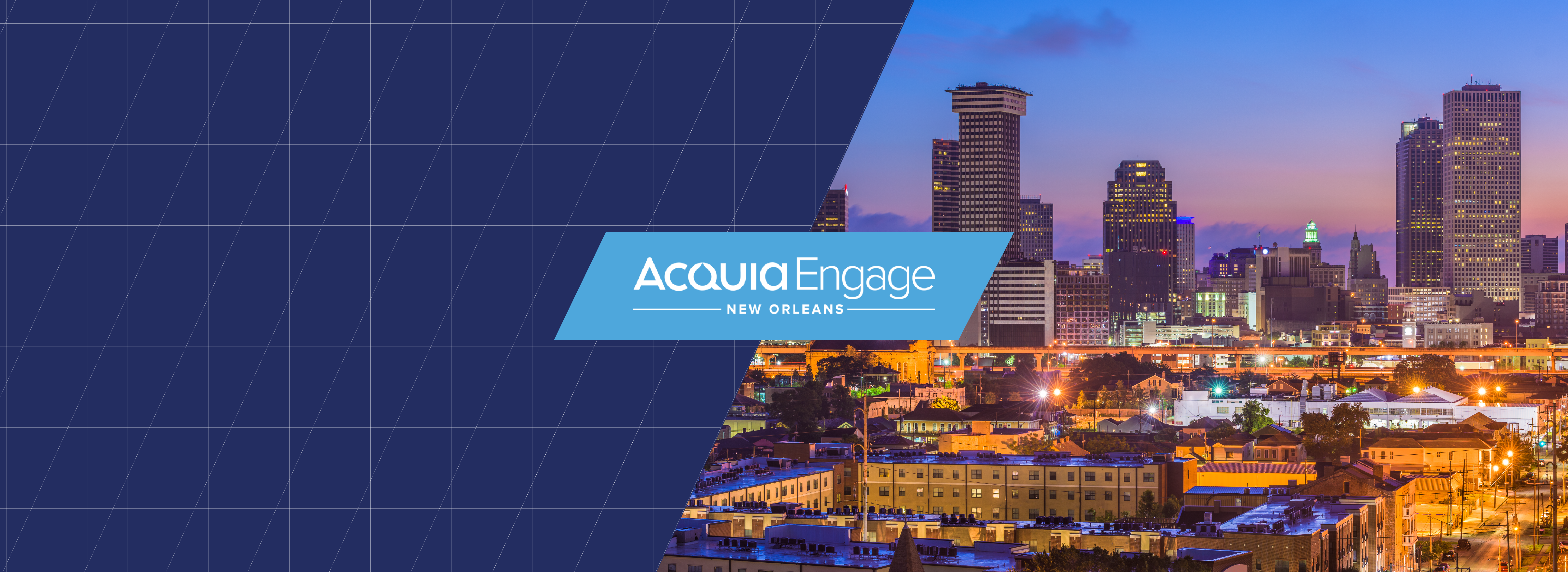 Acquia Engage NOLA Header
