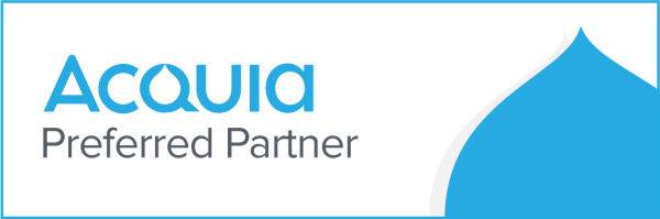 Acquia Preferred Partner badge