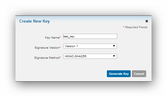 Cyber Source Creating Security Key