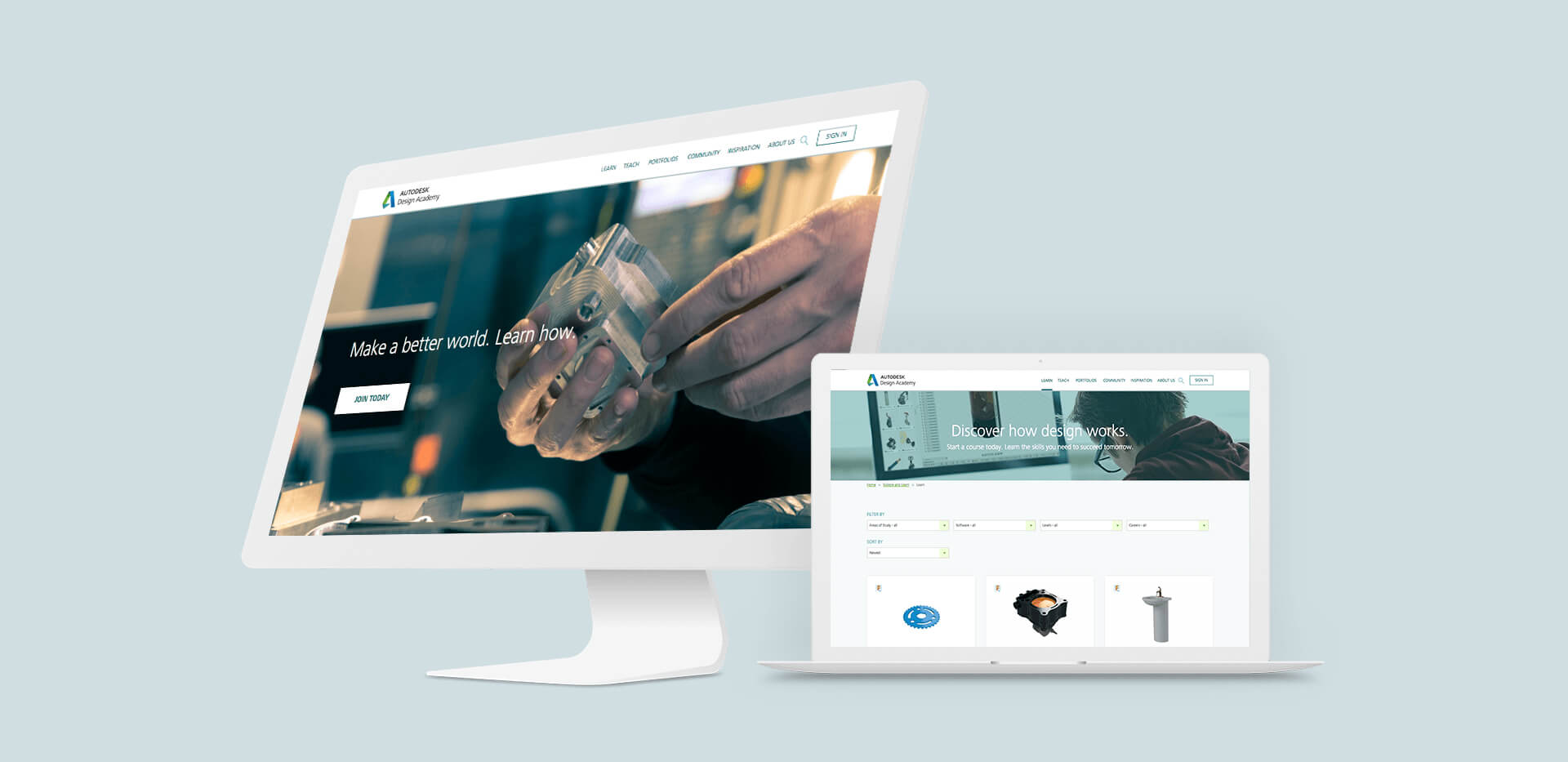 Design Academy home page