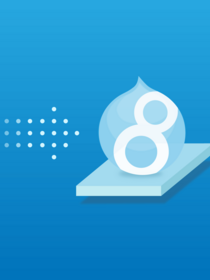 "Teaser of webinar ""Four Reasons to Move to Drupal 8"""