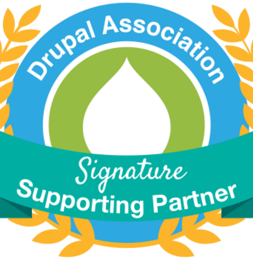 Drupal Association Signature Supporting Partner logo