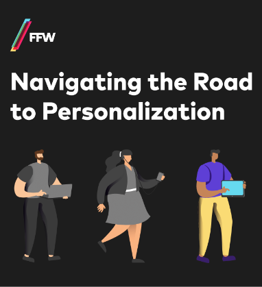 Road to personalization guide cover
