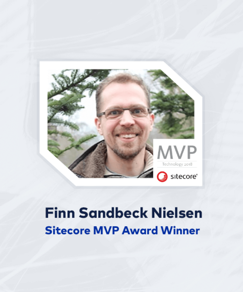 "Teaser of ""Finn Nielsen Receives Sitecore MVP Award"" blog"