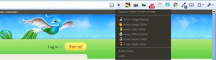 Aviary Screen Capture