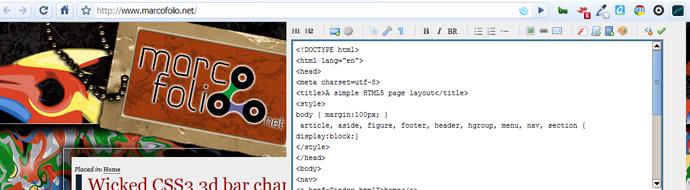 Chrome Editor