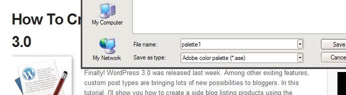 Palette Grabber